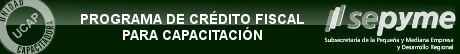 Fundación Proydesa está inscripta como Unidad Capacitadora (UCAP) para el Programa de Crédito Fiscal de la Sepyme (Subsecretaria de la Pequeña y Mediana Empresa y Desarrollo Regional), disponible para toda la oferta de capacitación.